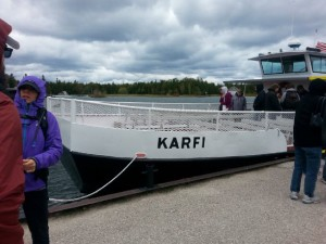 Karfi Ferry, Rock Island, Door County Wisconsin