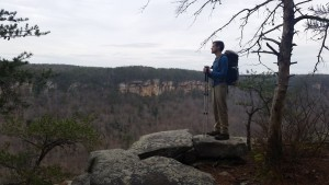 Scenic Overlook, South Rim Trail, Savage Gulf State Natural Area, South Cumberland State Park, Backpacking Tennessee