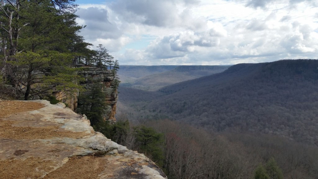 View from Great Stone Door, Backpacking Savage Gulf, South Cumberland State Park, TN
